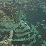 Martinique vue du ciel océan