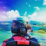 ULM Autogire vue du ciel